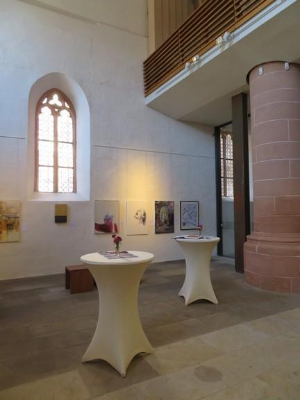 """Ausstellung """"Wort wird Bild"""" Künstler malen das Markusevangelium - Juni 2019"""