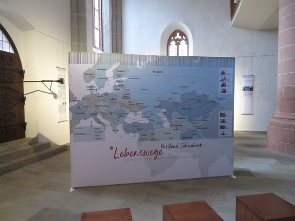 """Lebenswege"" Lebensgeschichten russlanddeutscher Schwabacher - November 2018"