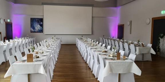 Martin - Luther Saal. Hochzeit für 170 Gäste