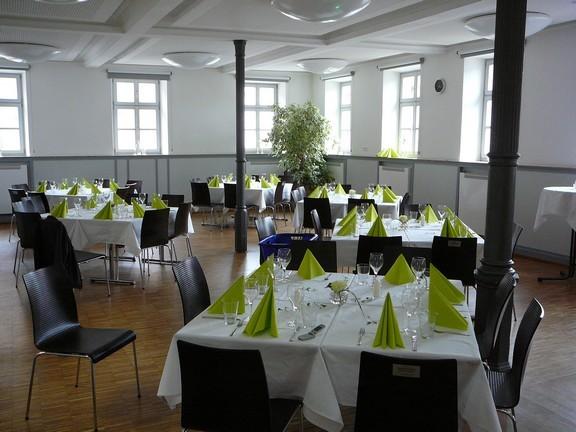 Martin - Luther Saal und Sophie Scholl Raum geöffnet