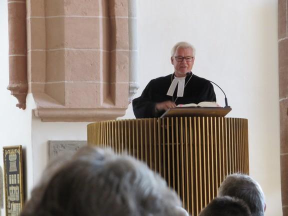 Ordinationsgottesdienst Frau Silvia Wolf am 24.9.2017, Predigt hielt Regionalbischof Dr. Ark Nitsche