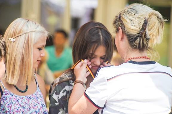 Gewinnen und Verlieren: So war das Motto des Gottesdienstes zum Stadtteilfest 2016