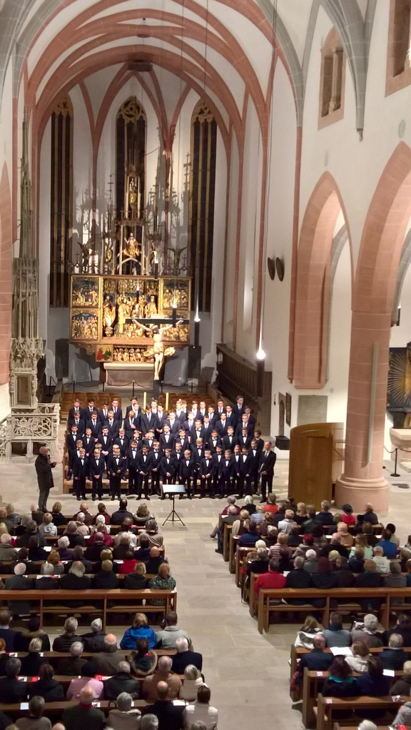 Im Oktober 2017 singt der Windsbacher Knabenchor Geistliche A-cappella Chormusik